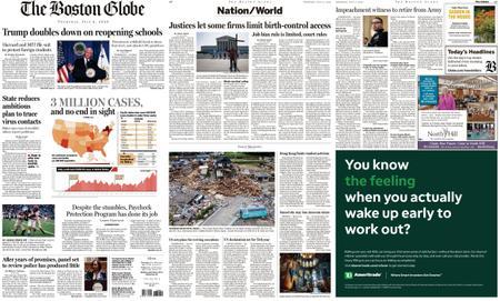 The Boston Globe – July 09, 2020