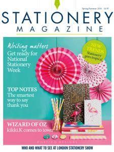 Stationery Magazine - Spring/Summer 2016