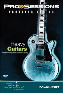 M-Audio Pro Sessions Producer Heavy Guitars MULTiFORMAT