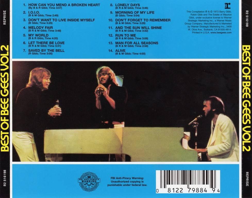 Top 10 Bee Gees Songs