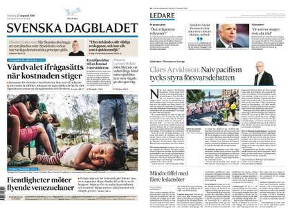 Svenska Dagbladet – 27 augusti 2018