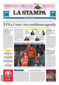 La Stampa Torino Provincia e Canavese - 28 Gennaio 2020