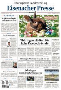Thüringische Landeszeitung Eisenacher Presse - 31. März 2018