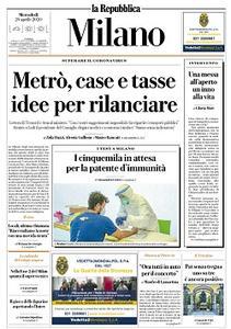 la Repubblica Milano - 29 Aprile 2020
