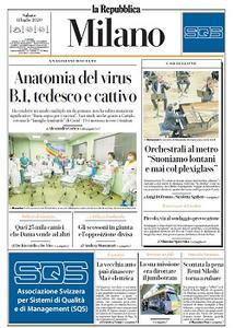 la Repubblica Milano - 11 Luglio 2020