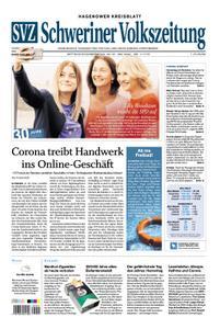 Schweriner Volkszeitung Hagenower Kreisblatt - 20. Mai 2020