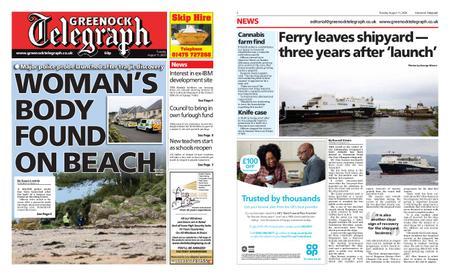 Greenock Telegraph – August 11, 2020