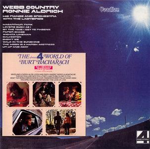 Ronnie Aldrich - Webb Country (1977) + The World of Burt Bacharach (1972) 2LP in 1CD, 2008