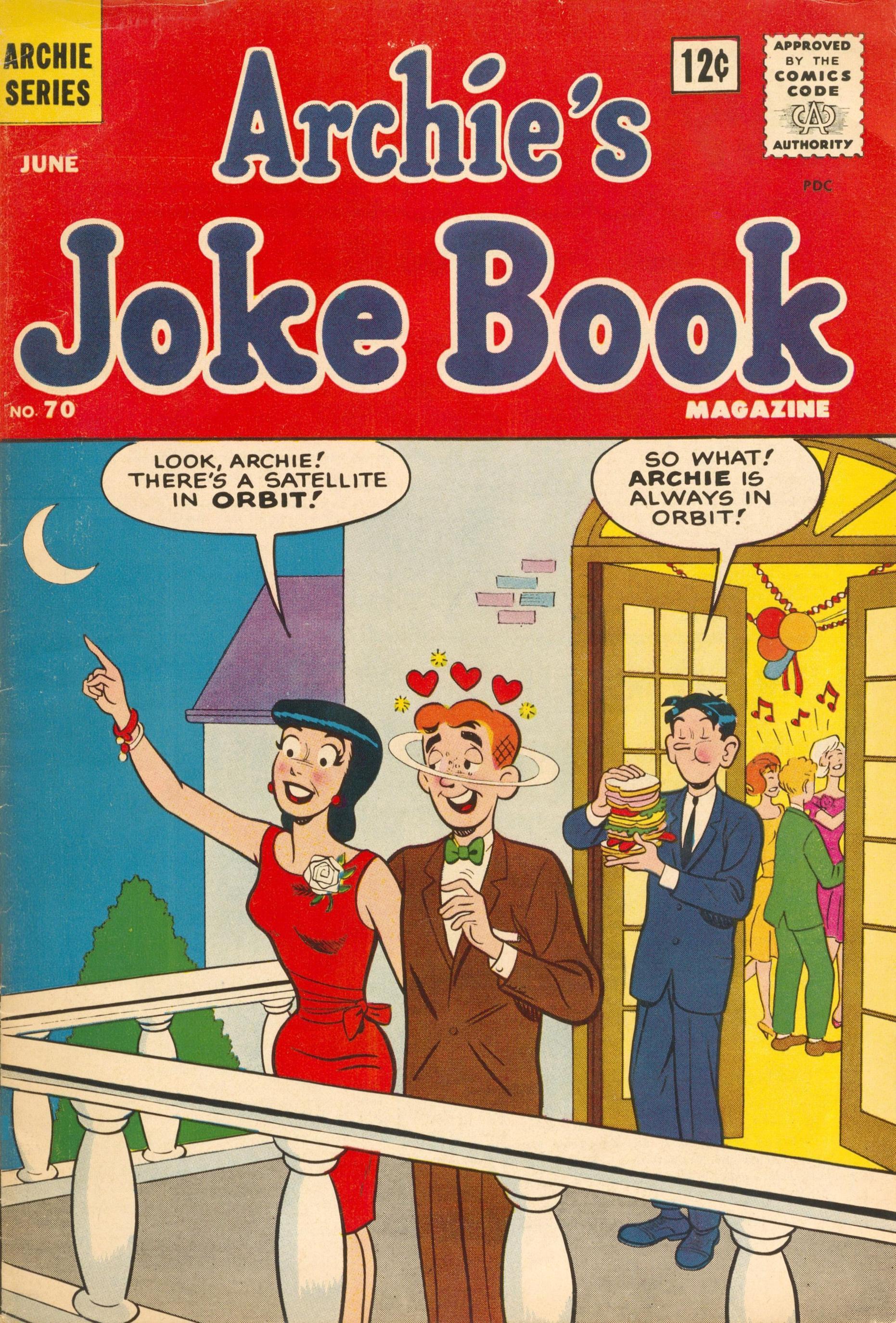 Archies Joke Book Magazine 070 1963