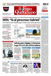Il Fatto Quotidiano - 26 gennaio 2019