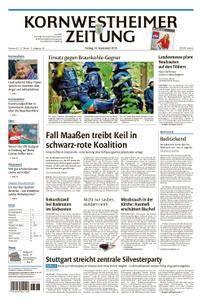 Kornwestheimer Zeitung - 14. September 2018