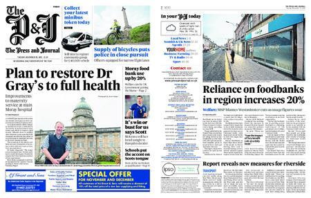 The Press and Journal Moray – November 20, 2018