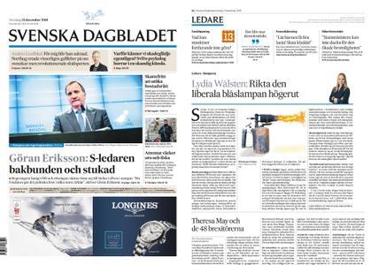Svenska Dagbladet – 13 december 2018