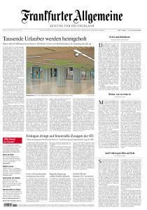 Frankfurter Allgemeine Zeitung - 18 März 2020