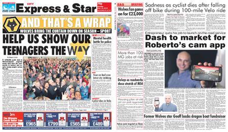 Express and Star City Edition – May 13, 2019