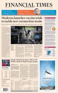 Financial Times Europe - January 26, 2021