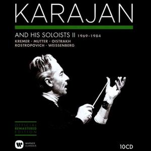 Herbert Von Karajan - Karajan and His Soloists, Vol. 2 1969-1984 (2014) (10 CDs Box Set)
