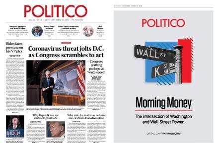Politico – March 18, 2020