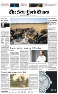 International New York Times - 9 October 2018