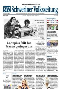 Schweriner Volkszeitung Hagenower Kreisblatt - 28. Januar 2019