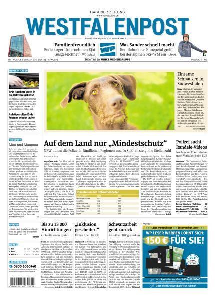 Westfalenpost - 8 Februar 2017