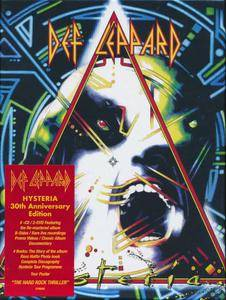 Def Leppard - Hysteria (1987) [2017, 5CD + 2DVD Box Set] Re-up