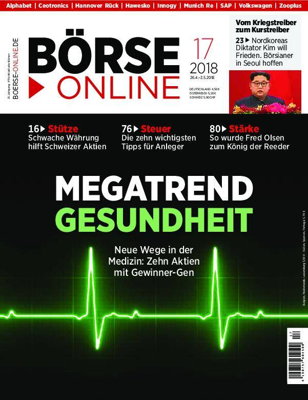Börse Online - 26. April 2018