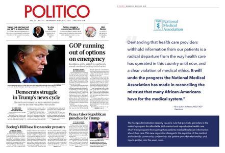 Politico – March 13, 2019