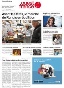 Ouest-France Édition France – 21 décembre 2019