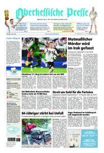 Oberhessische Presse Marburg/Ostkreis - 09. Juni 2018