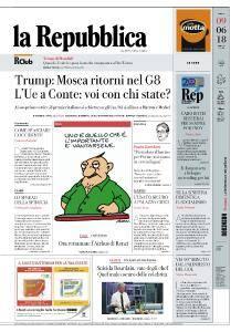 la Repubblica - 9 Giugno 2018