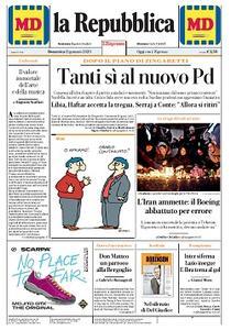 la Repubblica - 12 Gennaio 2020