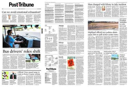Post-Tribune – August 17, 2020