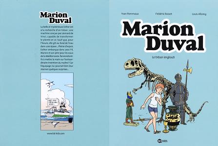 Marion Duval - Tome 24 - Le Tresor Englouti