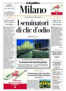 la Repubblica Milano – 10 giugno 2019