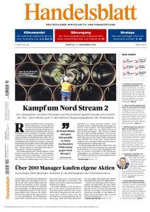 Handelsblatt - 17. Dezember 2018