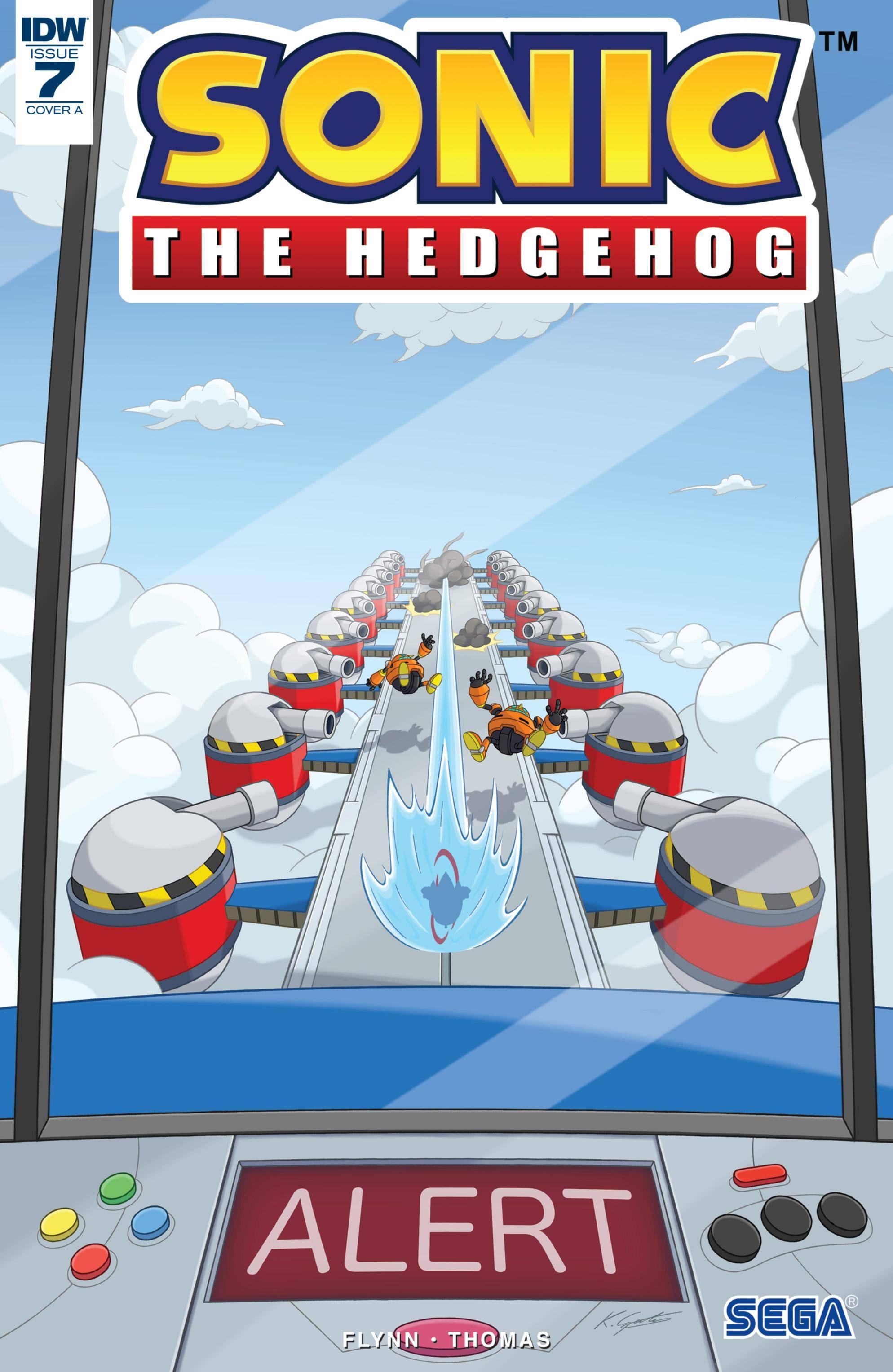 Sonic The Hedgehog 007 2018 Digital AnHeroGold