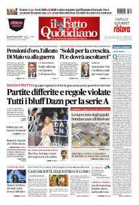 Il Fatto Quotidiano - 30 agosto 2018