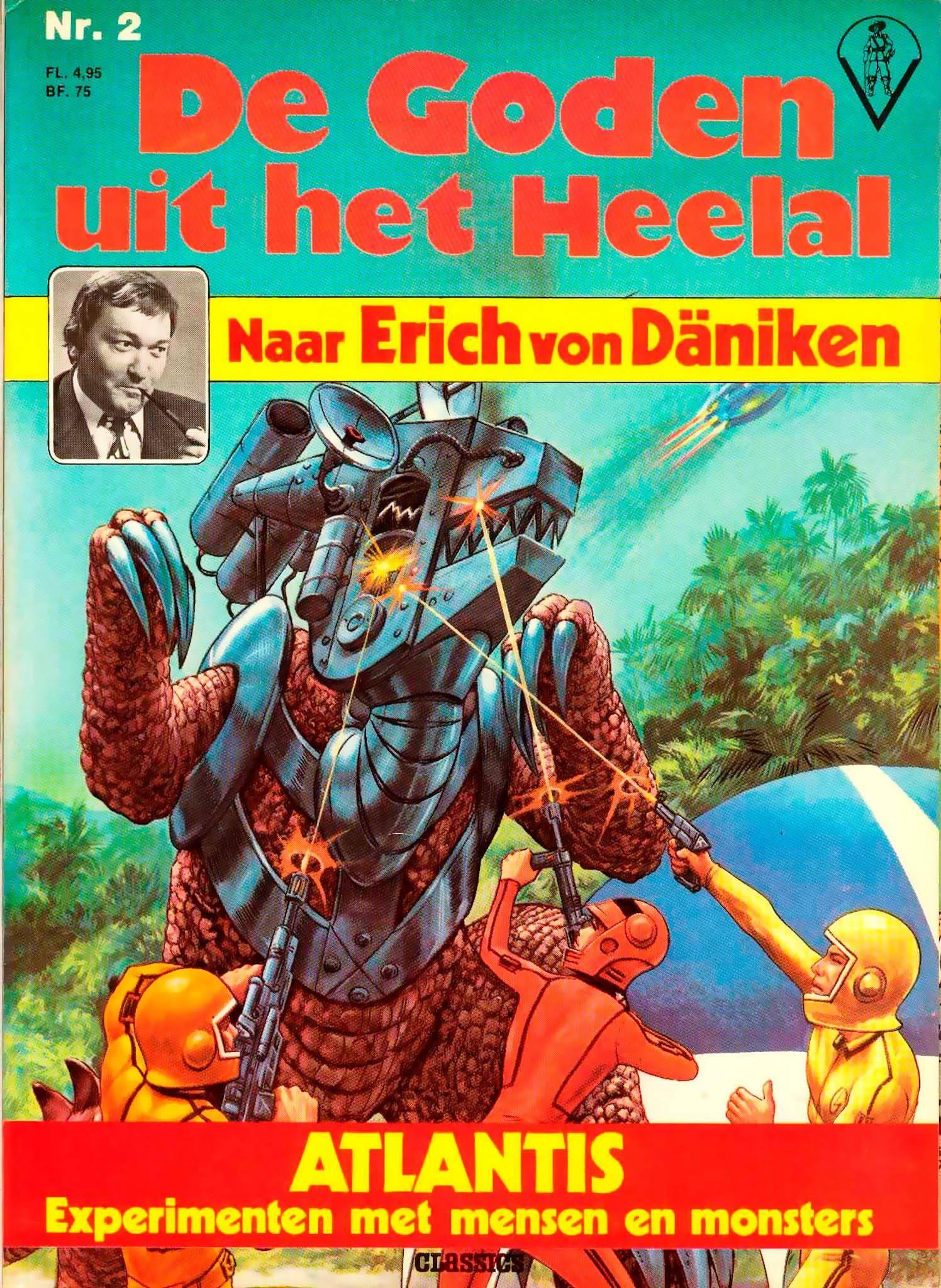 Erich van Daniken - De Goden uit het Heelal - Atlantis cbr