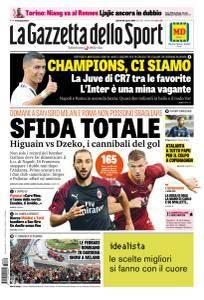 La Gazzetta dello Sport con edizioni locali - 30 Agosto 2018