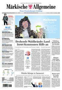 Neue Oranienburger Zeitung - 27. April 2019