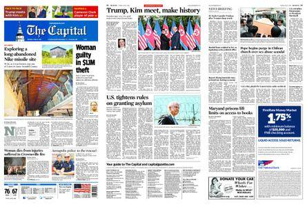 The Capital – June 12, 2018
