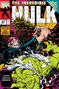 Incredible Hulk 385 1991b