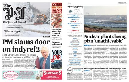 The Press and Journal Moray – January 15, 2020