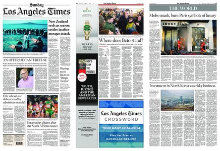 Los Angeles Times – March 17, 2019