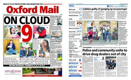 Oxford Mail – August 25, 2017