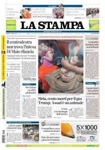 La Stampa Imperia e Sanremo - 9 Aprile 2018
