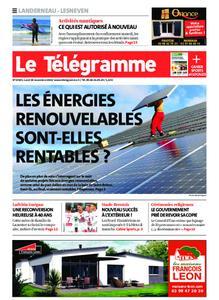 Le Télégramme Landerneau - Lesneven – 30 novembre 2020