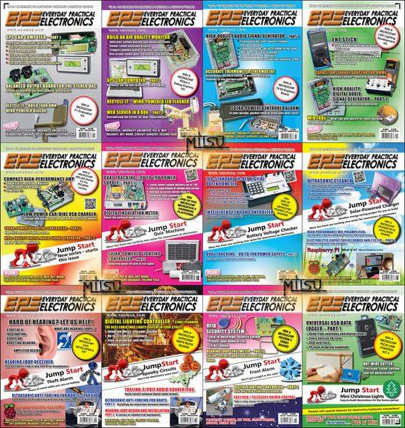 Everyday Practical Electronics (EPE) - Full Year 2012 Issues Collection
