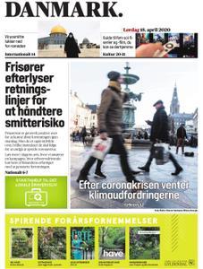 JydskeVestkysten Varde – 18. april 2020